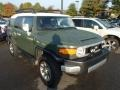 Army Green 2011 Toyota FJ Cruiser 4WD