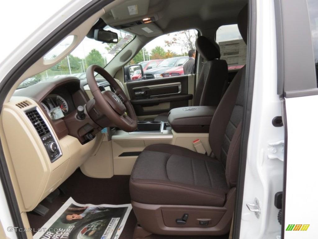 canyon brownlight frost beige interior 2014 ram 1500 slt