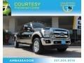 2012 Black Ford F250 Super Duty Lariat Crew Cab 4x4  photo #1