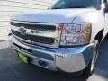 2012 Summit White Chevrolet Silverado 1500 LS Crew Cab 4x4  photo #10