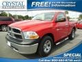 2012 Flame Red Dodge Ram 1500 ST Regular Cab #87182848