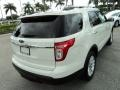 2011 White Suede Ford Explorer XLT  photo #6