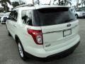 2011 White Suede Ford Explorer XLT  photo #9