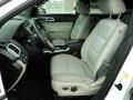 2011 White Suede Ford Explorer XLT  photo #19