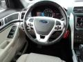 2011 White Suede Ford Explorer XLT  photo #27