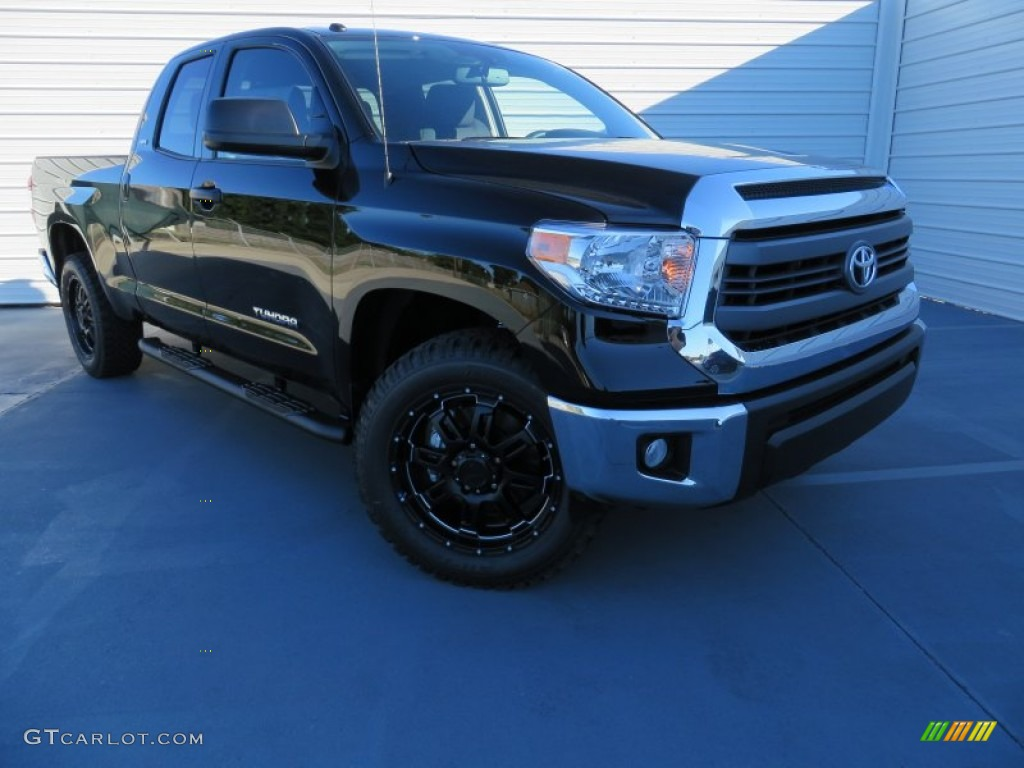 2014 Tundra TSS Double Cab - Black / Black photo #1