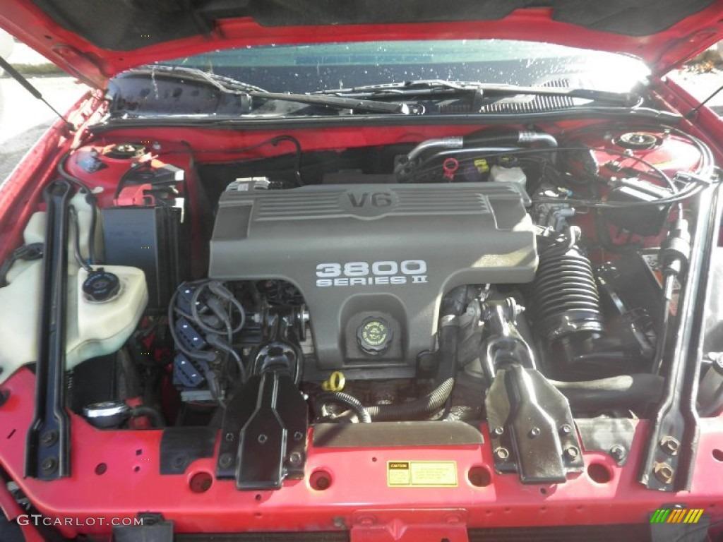 1997 Pontiac Grand Prix Gt Coupe 3 8 Liter 3800 Series Ii Ohv 12 Valve V6 Engine Photo 87207929