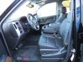 Jet Black Front Seat Photo for 2014 GMC Sierra 1500 #87220104