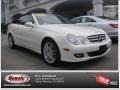 Arctic White - CLK 350 Cabriolet Photo No. 26