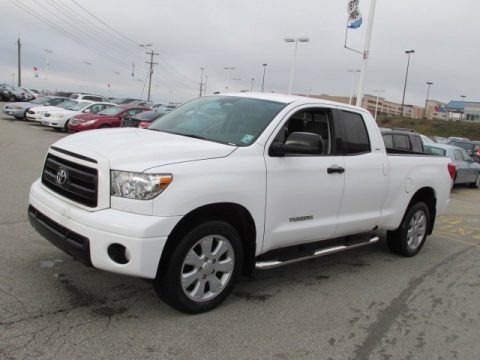 2010 Toyota Tundra SR5 Double Cab Data, Info and Specs