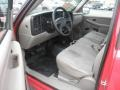 2005 Victory Red Chevrolet Silverado 1500 Regular Cab 4x4  photo #6