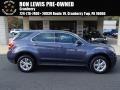 Atlantis Blue Metallic 2013 Chevrolet Equinox LS AWD