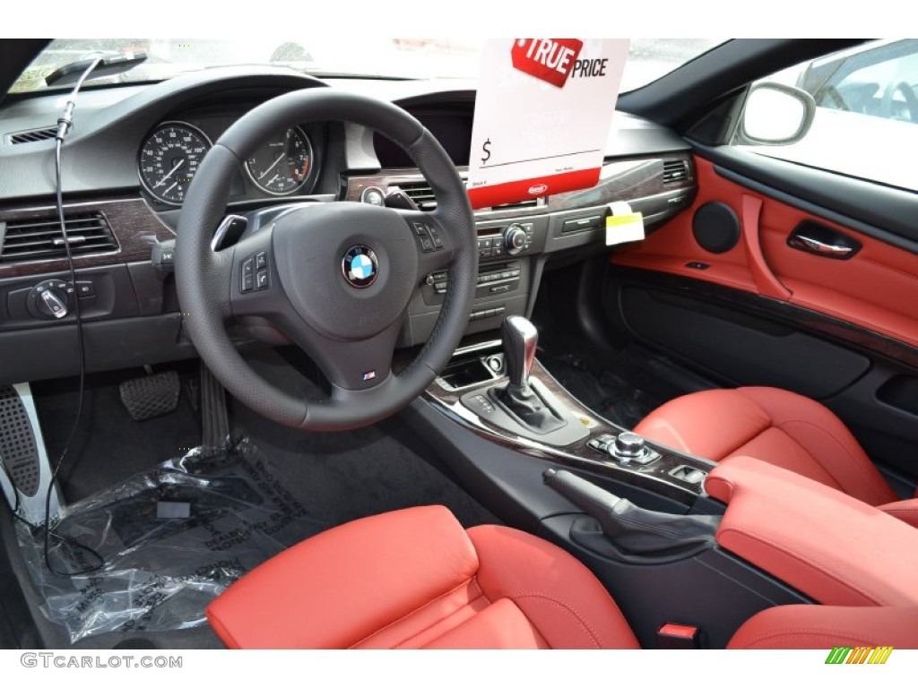 Coral Red Black Interior 2013 Bmw 3 Series 335i Convertible Photo 87236417