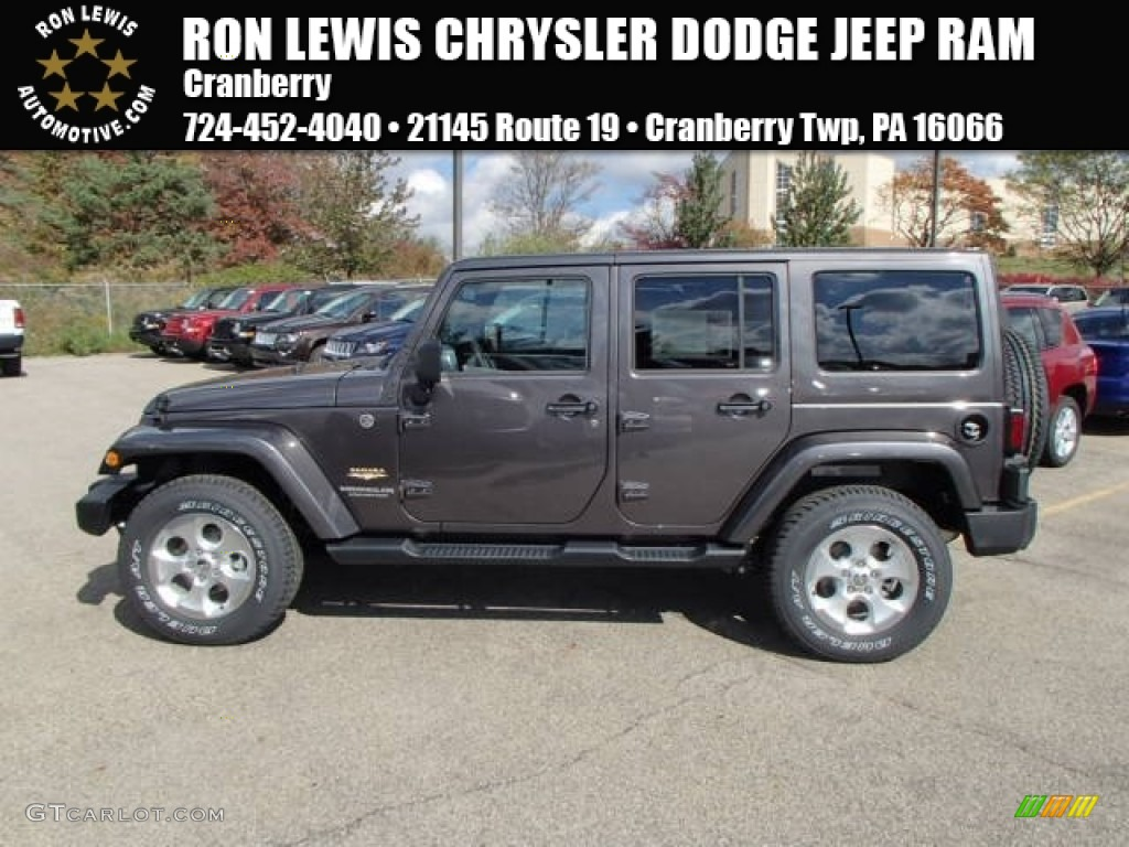 2014 granite metallic jeep wrangler unlimited sahara 4x4 87224915. Cars Review. Best American Auto & Cars Review