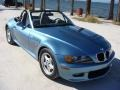 Atlanta Blue Metallic 1999 BMW Z3 2.3 Roadster