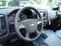 Jet Black/Dark Ash Steering Wheel Photo for 2014 Chevrolet Silverado 1500 #87263958