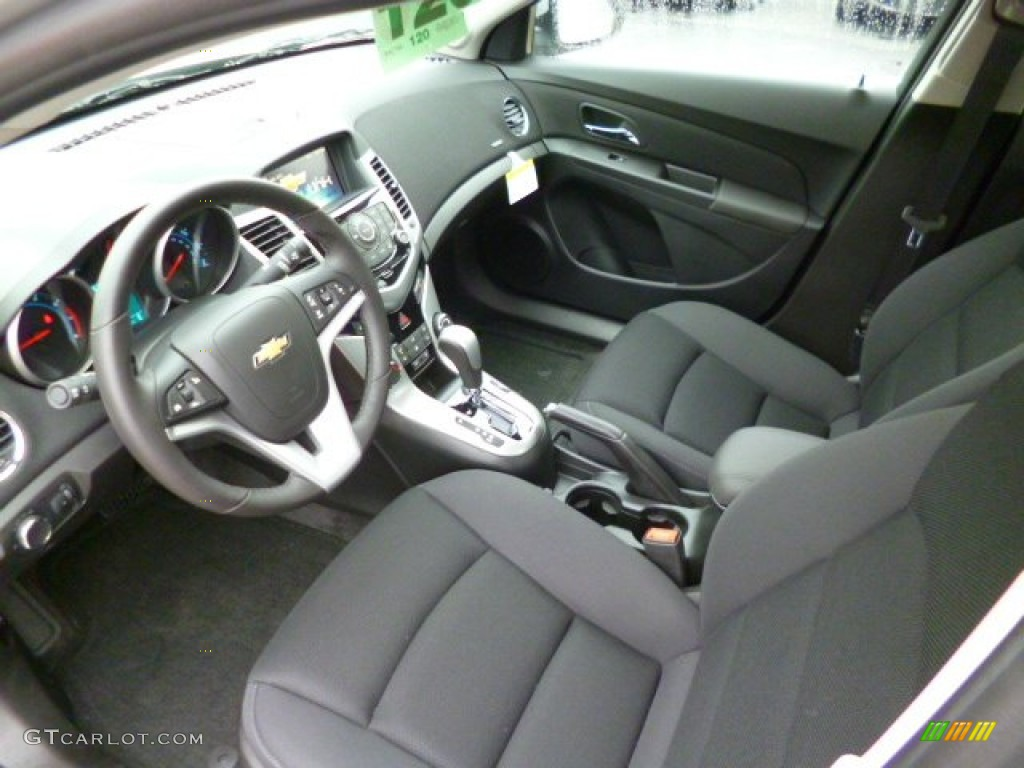 Jet Black Interior 2014 Chevrolet Cruze Lt Photo 87266613