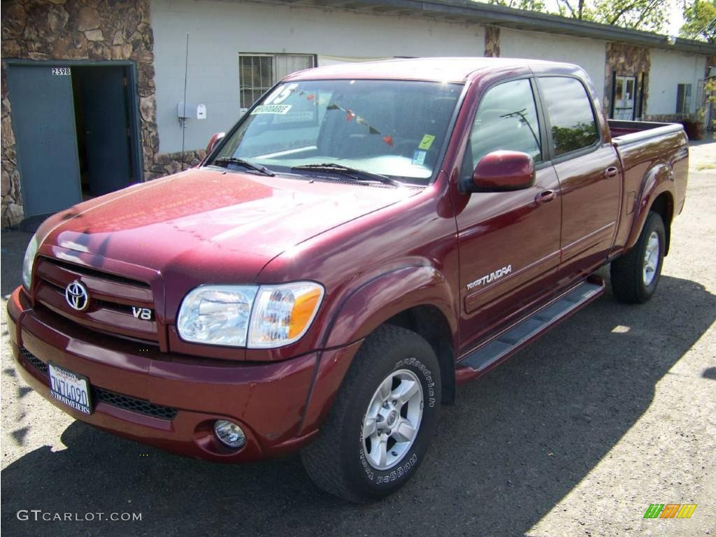 Car Paint Color Codes >> 2005 Salsa Red Pearl Toyota Tundra Limited Double Cab #8722827 | GTCarLot.com - Car Color Galleries