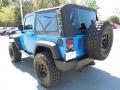 2012 Cosmos Blue Jeep Wrangler Sport 4x4  photo #3