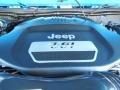 2012 Cosmos Blue Jeep Wrangler Sport 4x4  photo #16