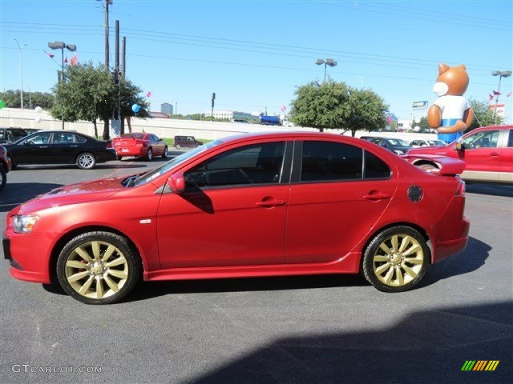 Rally Red Pearl 2009 Mitsubishi Lancer Ralliart Exterior Photo 87293016 Gtcarlot Com