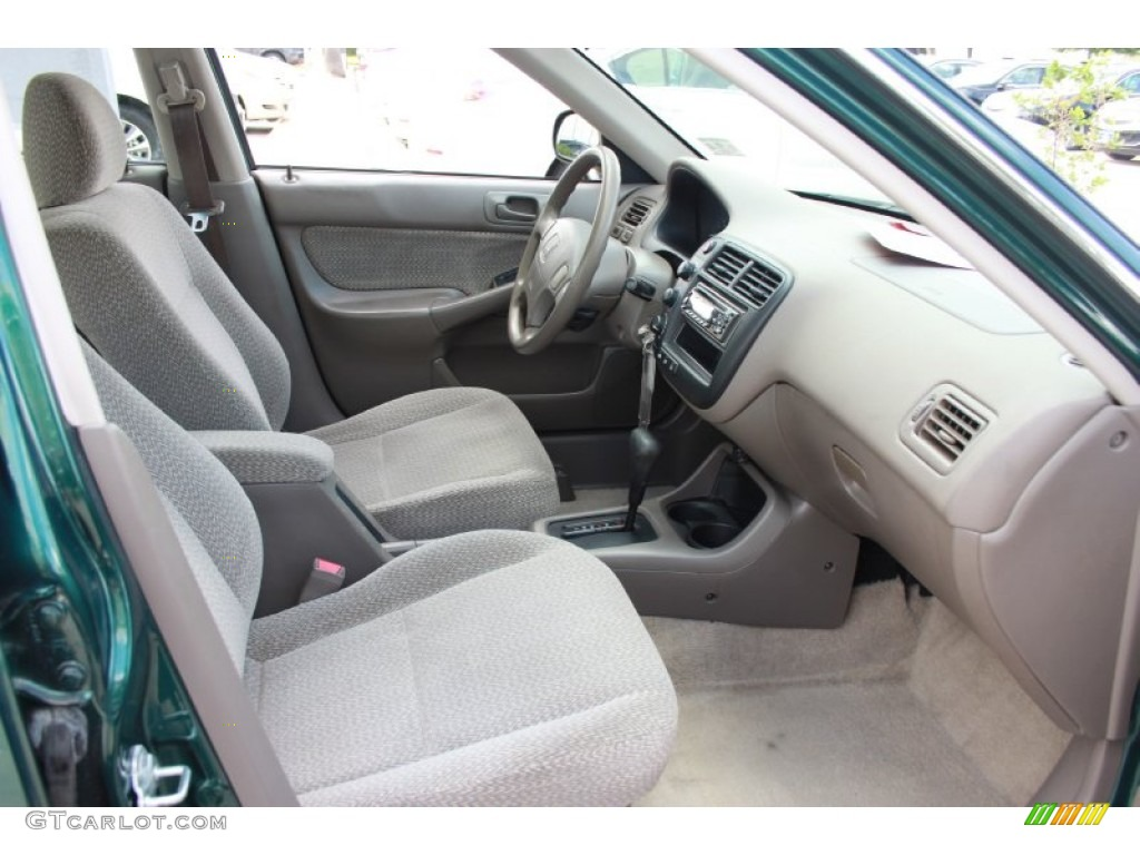 Beige Interior 2000 Honda Civic Lx Sedan Photo 87311911