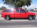 2005 Victory Red Chevrolet Silverado 1500 Extended Cab  photo #8
