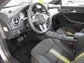 Neon Art Black/DINAMICA w/Yellow Stitching 2014 Mercedes-Benz CLA Interiors
