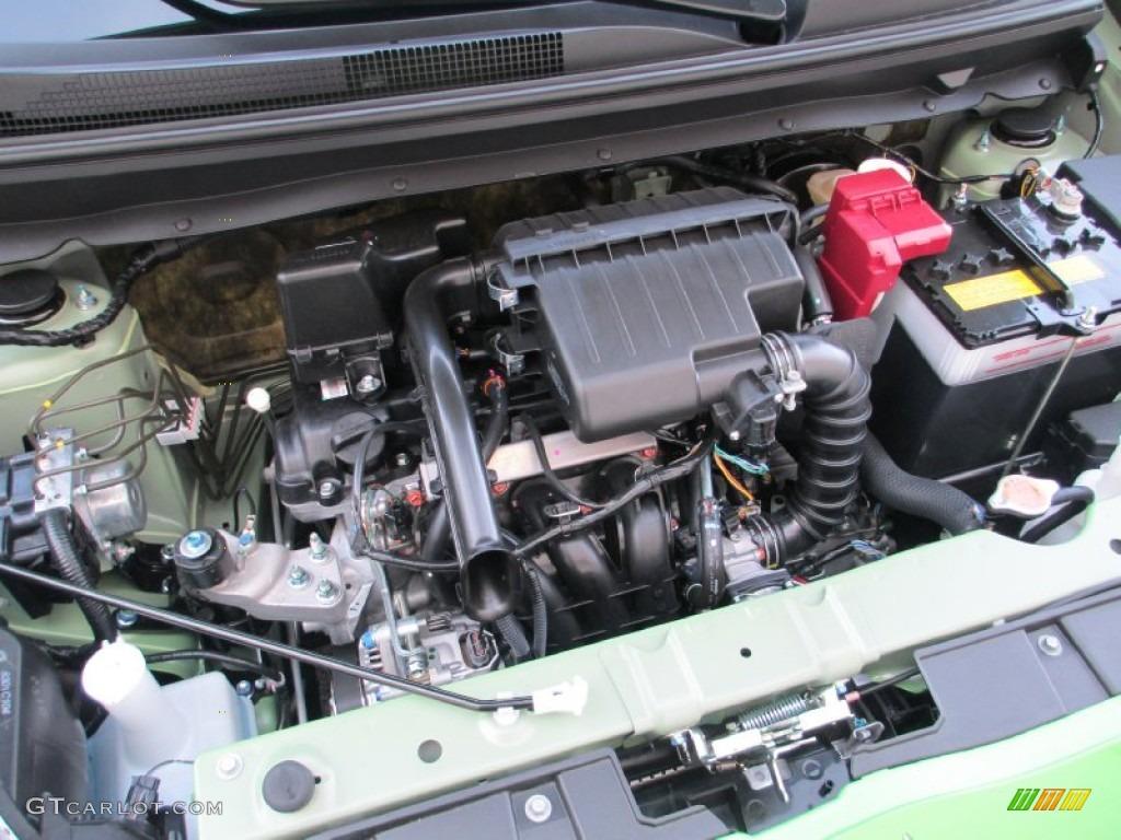 2014 Mitsubishi Mirage ES 1.2 Liter DOHC 12-Valve MIVEC 3 Cylinder Engine Photo #87314419 ...