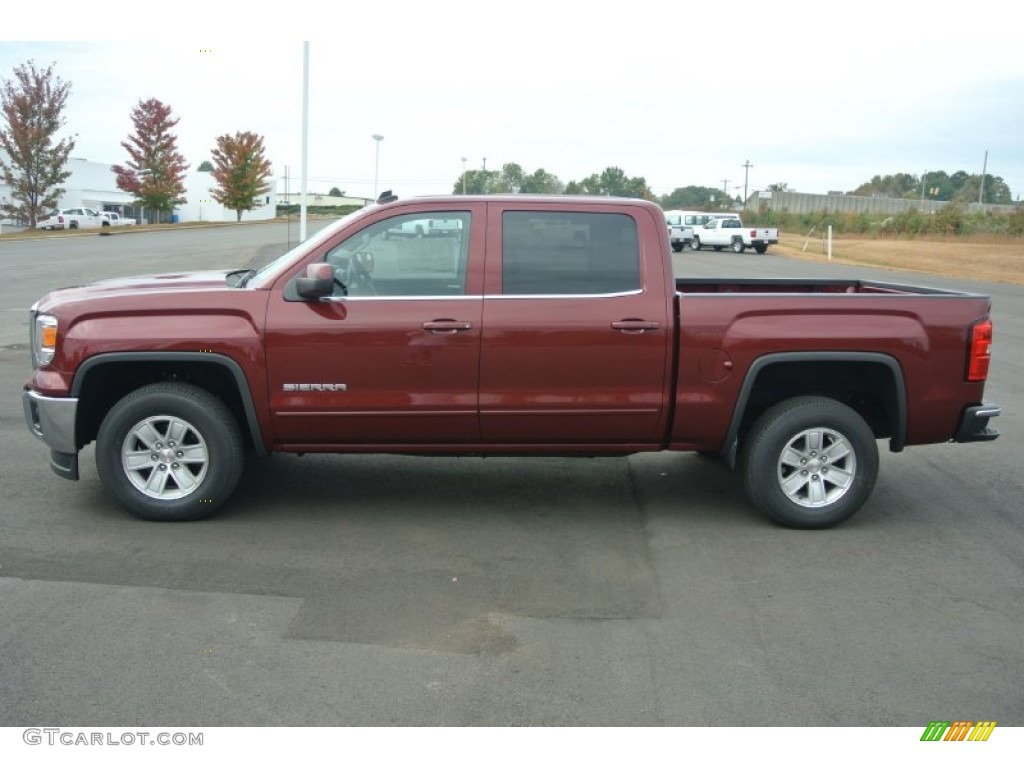 sonoma red metallic 2014 gmc sierra 1500 sle crew cab exterior photo 87321328. Black Bedroom Furniture Sets. Home Design Ideas