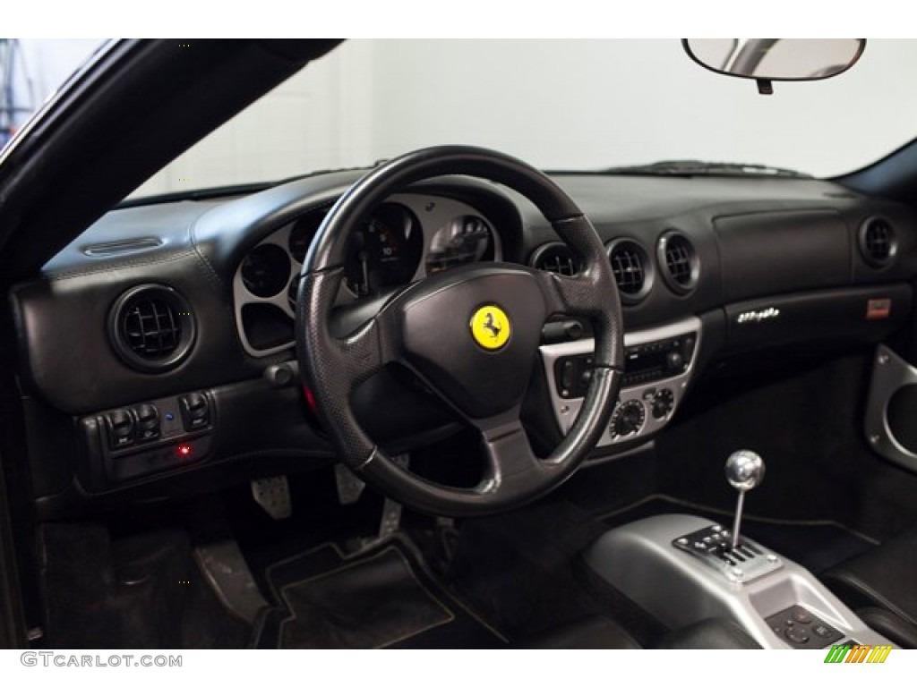 2004 Ferrari 360 Spider Nero Dashboard Photo 87331498