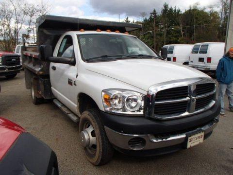 2007 Dodge Ram 3500 ST Regular Cab 4x4 Dump Truck Data, Info and Specs