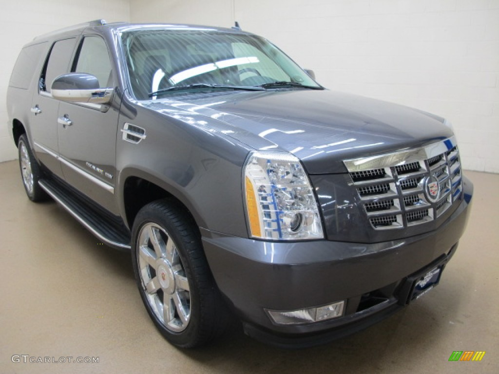 2011 galaxy gray metallic cadillac escalade esv luxury awd. Black Bedroom Furniture Sets. Home Design Ideas