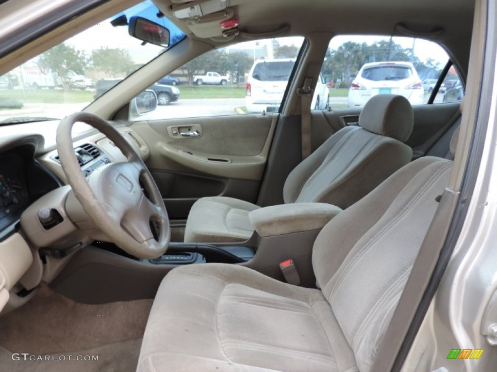 1999 Honda Accord LX Sedan Interior Color Photos ...