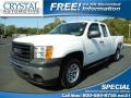 Summit White 2013 GMC Sierra 1500 Extended Cab
