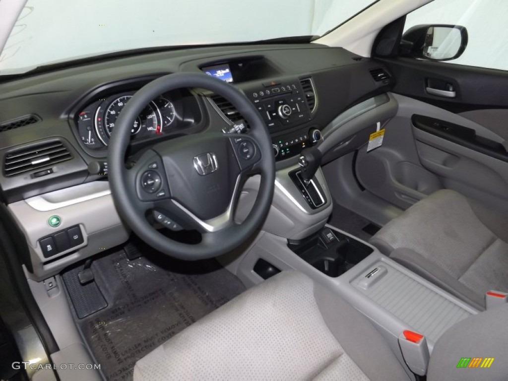 2014 CR-V EX AWD - Polished Metal Metallic / Gray photo #10