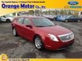Red Candy Metallic 2010 Mercury Milan I4 Premier