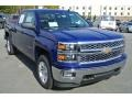 Front 3/4 View of 2014 Silverado 1500 LT Double Cab 4x4