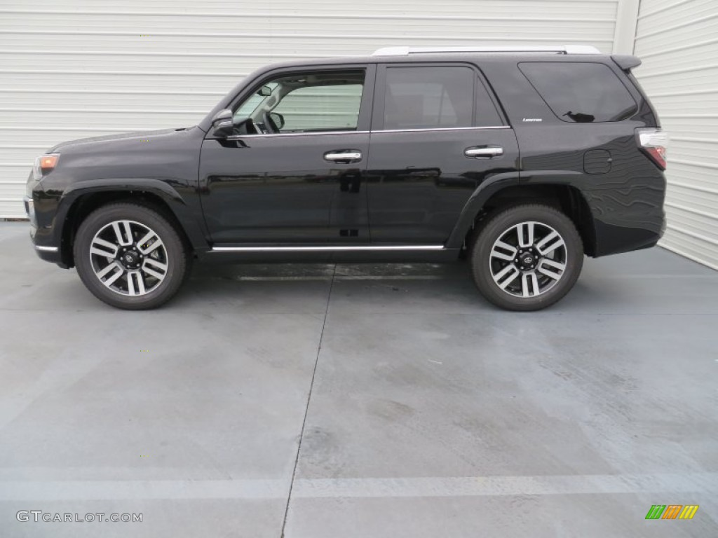 Attitude Black Metallic 2014 Toyota 4runner Limited
