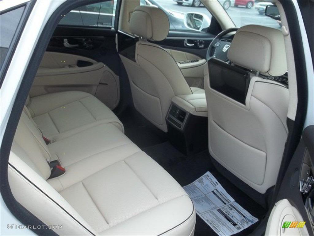 Ivory Interior 2014 Hyundai Equus Ultimate Photo 87424457 Gtcarlot Com