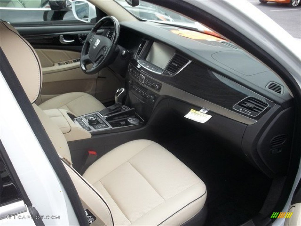Ivory Interior 2014 Hyundai Equus Ultimate Photo 87424481 Gtcarlot Com