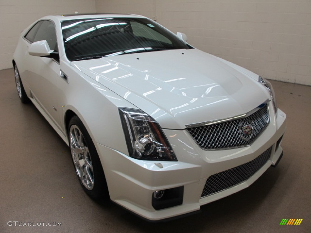 2013 white diamond tricoat cadillac cts v coupe 87418625 car color galleries. Black Bedroom Furniture Sets. Home Design Ideas