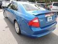 2011 Blue Flame Metallic Ford Fusion SEL  photo #17