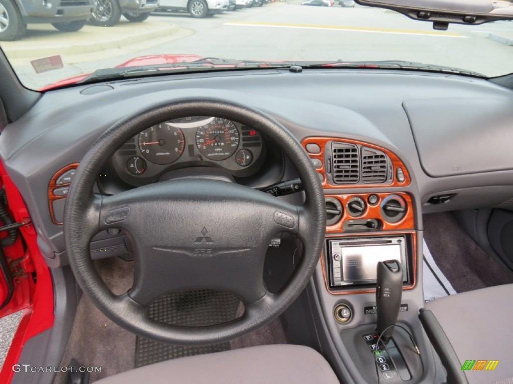 1996 Mitsubishi Eclipse Spyder GS Gray Dashboard Photo ...