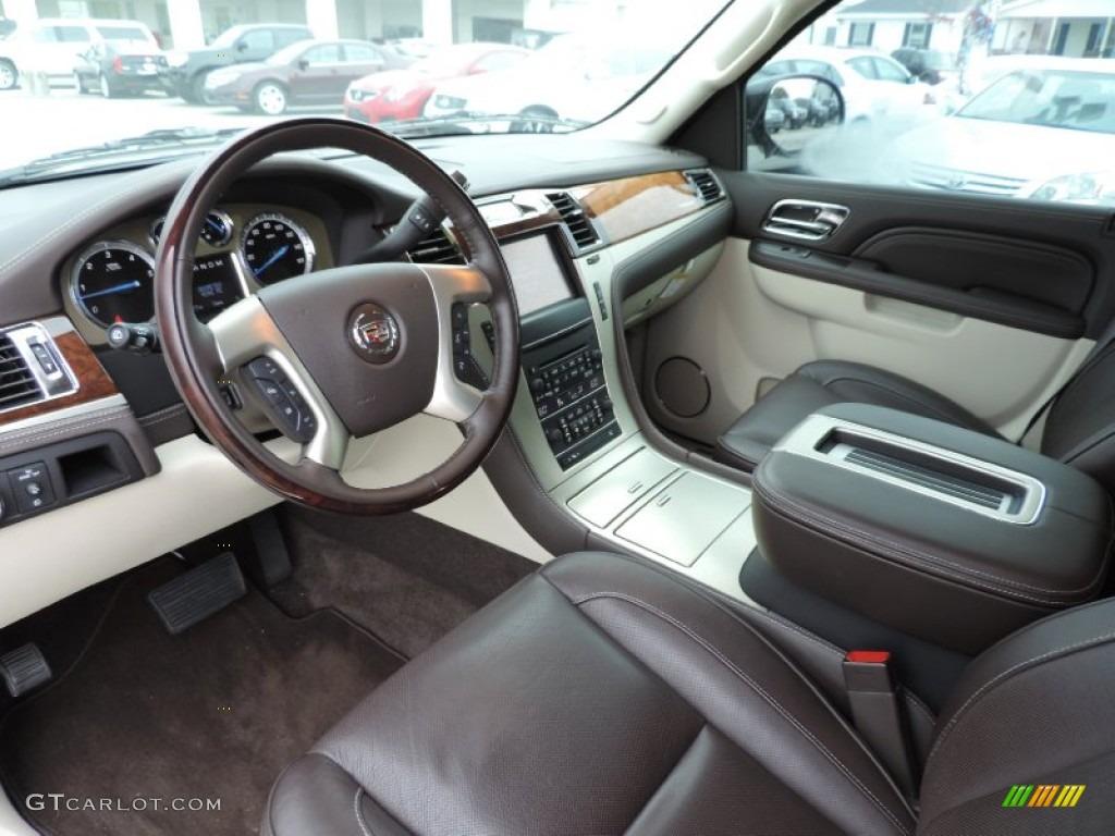 2013 Cadillac Escalade Esv Platinum Awd Interior Color Photos