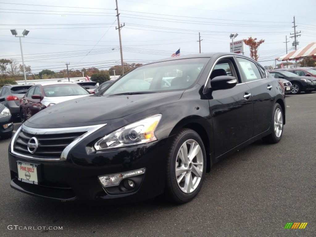 2013 super black nissan altima 2 5 sl 87419207 car color galleries. Black Bedroom Furniture Sets. Home Design Ideas