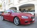 Imola Red 2013 BMW 6 Series 640i Coupe