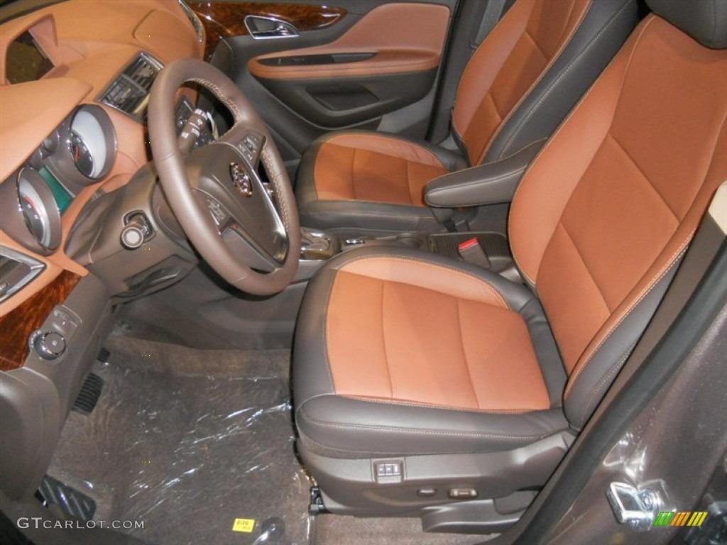 2014 Cocoa Silver Metallic Buick Encore Leather #87457843 ...