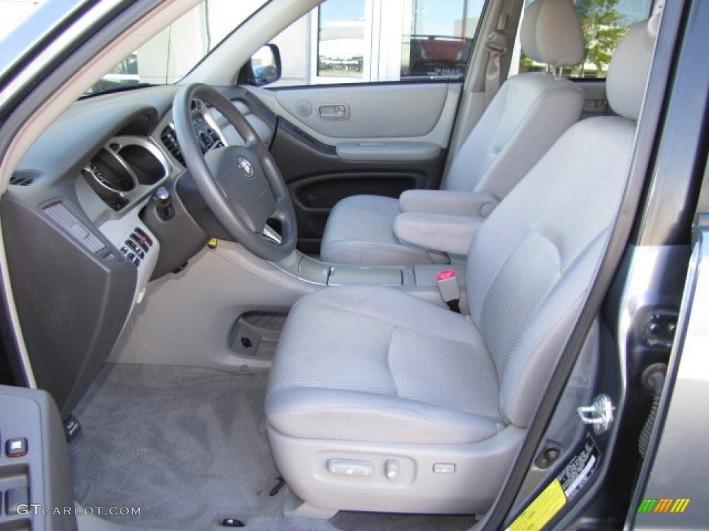 2007 toyota highlander standard highlander model interior photos. Black Bedroom Furniture Sets. Home Design Ideas