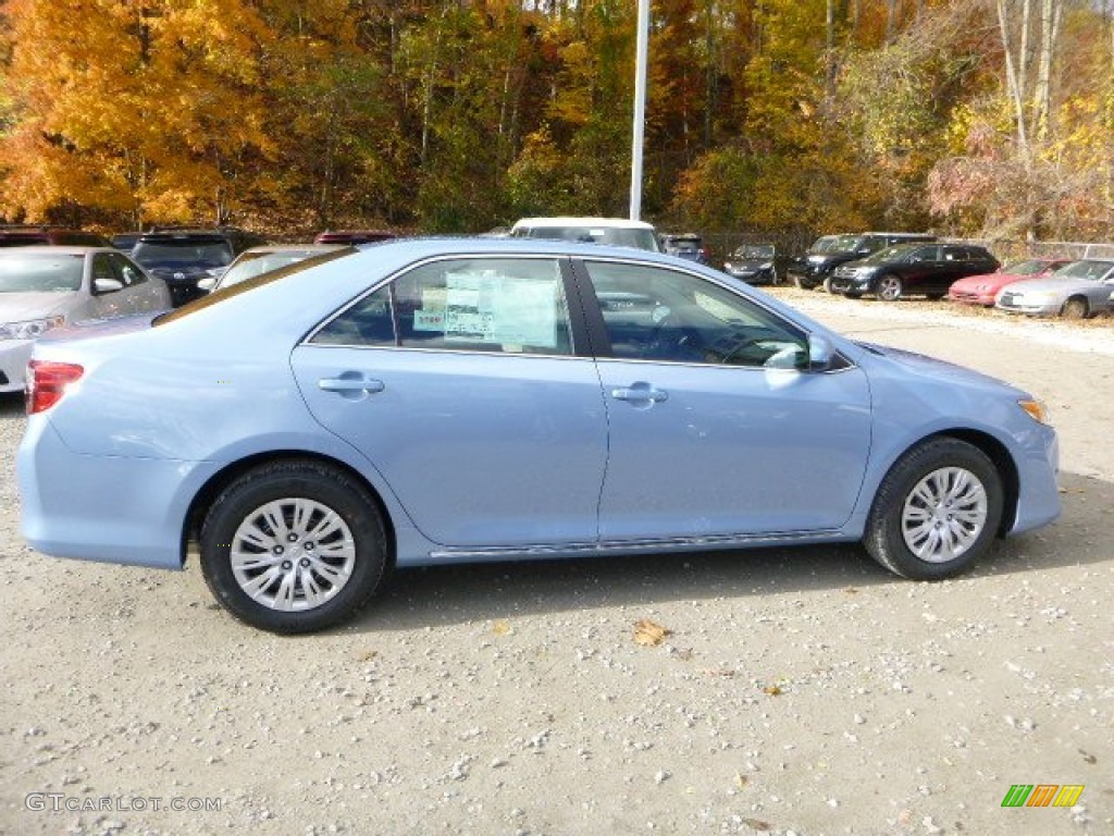 2014 clearwater blue metallic toyota camry le 87457421 photo 2 car color. Black Bedroom Furniture Sets. Home Design Ideas